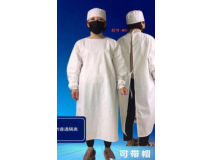 Disposable protective conjoined clothing
